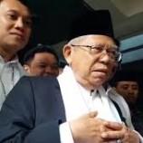 Harapan Ma'ruf Amin Untuk Jokowi