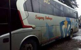 Korban Kecelakaan Tunggal 3 Orang Terluka